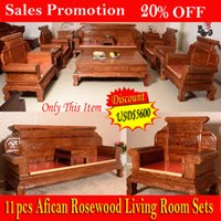 antique style sofa set - 20 OFF Discount Promotion china furniture African rosewood Living Room sofa solid wood sofa chinese Ming Dynasty style