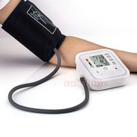 Wholesale Portable Arm Blood Pressure Pulse Monitor Health care Monitors Digital Upper Arm Blood Pressure Monitor meters sphygmomanometer pc