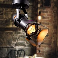 Wholesale American Rural Industrial Retro personality Lighting Photography Ceiling Light Lamp FL78