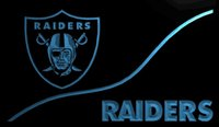 Wholesale LS897 b Oakland Raiders Neon Light Sign jpg