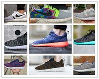 barefoot mens shoes - Lightweight Breathable Women Roshe Run Sports running shoes mens London Olympic Sneakers barefoot size