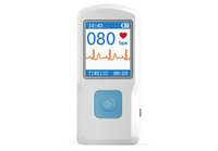 Wholesale PM10 Portable ECG Monitor with Bluetooth with simple report storing cases upload data to iPhone optional App from apple store