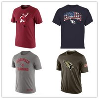 arizona t shirts - Cardinals T Shirts cheap rugby football jerseys Arizona Salute To Service Banner Wave Black Gold Collection Tshirts