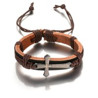 acts bracelet - Europe and the United States foreign trade act the role ofing is tasted restore ancient ways the cross leather bracelet