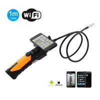 Wholesale Wifi Endoscope Inspection Camera with mm Diameter Meter Tube Support IPad IPhone IOS Android