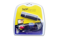 Wholesale New Easycap USB DC60 VHS TV DVD Video Capture Adapter Easy Cap Card Audio AV Video Capture Card Video Capture USB S244