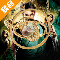 american time - New Harry potter time turner Hourglass elements necklaces pendant necklaces Spins Necklace colors alloy necklaces free ship