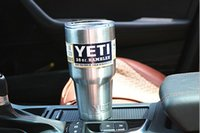 Wholesale Factory Direct Yeti Cups Bilayer Stainless Steel Insulation Cup OZ YETI Cups Cars Beer Mug Tumblerful