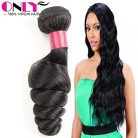 best human hair brand - Only Hair Products Unprocessed Virgin Hair Extensions Best Human Hair Weave Brand Peruvian Weave Wefts Loose Wavy