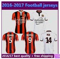 Wholesale French League OGC Nice Soccer Jerseys BALOT BALOTELL Payet OGC Nice soccer football shirts Jersey maillot de foot