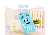 beans plastics - DHL M M Chocolate GEL Soft Beans D Colorful Cute Funny Silicone phone Case Cover For iPhone S S plus s s plus