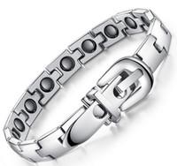 Tungsten belt buckles promotional - Health care magnetic bracelet hot diamonds sales promotional specials Belt buckle bracelets