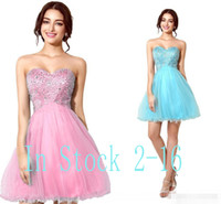 art summer school - under Sweetheart Light Blue Graduation Dresses for th Grade College High School Tulle Sequins A Line Short Homecoming Prom Gowns