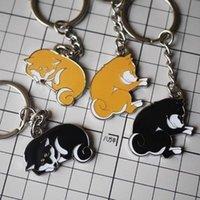 Promotion animal lovers club - 2016 New Arrived Shiba Inu Doge Logo keychain Keyring original Metal Pendant Gift Collectibles Shiba Inus Fan Club High Quality