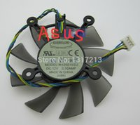 Wholesale EVERFLOW R128015SU mm Graphics Video Card Cooler Fan Replacement x mm V A Wire Pin for ASUS EAH5830 GTS