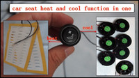 fan heater - car seat heater and ventilation kits in one with round switch and fans