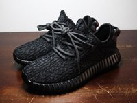 Wholesale Yeezy Boosts Boost Top Quality Kanye West Yeezy Classic Black Men Tan Yeezy Trainers Shoes Perfect Yeezy With Original Box