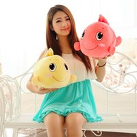 adorable ideas - Run for goldfish plush toy super adorable cute pillow doll doll doll female birthday gift idea