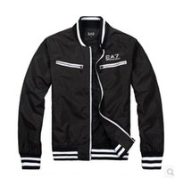 active period - Kanye west Y3 new Europe and the United States Japanese hip hop popular logo hit the spring and autumn period and the male EA7 jacket