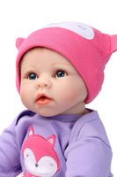 Cheap 55cm High quality silicone reborn baby doll toys lifelike real newborn girl babies toddler toy birthday gifts present for child