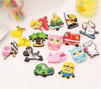 Wholesale 2016 New Cartoon Fridge Magnets with Multi Colors Decoration Stickers on Fridge and Furniture Designs