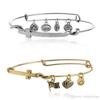 adult ani - Alex and Ani Statement Bracelets Women Men Adult Novelty Cross Expandable Wire Bangle Fashion Party High Quality Jewelry Bracelets Styles