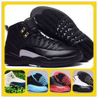 cheap shoes - cheap s RETRO s XII THE MASTER BLACK GOLD Basketball Shoes Sports Shoe women Sneakers Discount Men Athletics Boots
