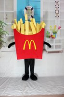 activities marketing - Factory Outlets food delicious French fries Potato chips Cartoon Mascot Costume Market Activity Suit Stage Performance Suit