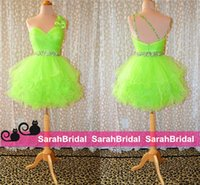Cheap Lime Green Ball Prom Birthday Bridesmaid Party Gowns 2014 Popular Style Shopping 2015 Cheap Vestidos Evening Dresses for Sweet 16 Girls Sale