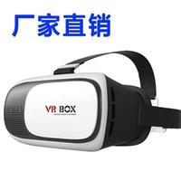 Wholesale VR BOX II D Glasses Bluetooth Remote Virtual Reality Google Cardboard Video Glass Smart Bluetooth Wireless Remote Control Gamepad