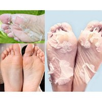 Wholesale Hot2Pcs Milk Bamboo Vinegar Dead Skin Remove Foot Skin Smooth Exfoliating Feet Mask CO9