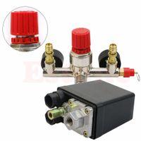 air compressor control switch - Heavy Duty Air Compressor Pump Pressure Control Switch Regulator Valve Gauges