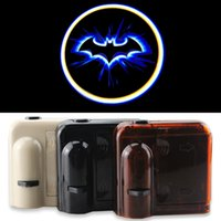accent shadow - Wireless Car Door LED Projector Light Cold Blue bat batman car door courtesy welcome logo shadow ghost light laser projector