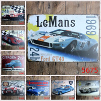 Wholesale 20X30CM Vintage Tin Signs Metal Plate Decorative Retro Wall Poster Metal Painting Metal Board