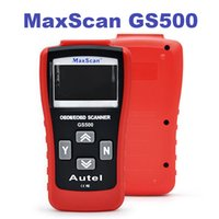 auto car check - DHL GS500 Autel MaxiScan OBD2 OBDII Car Scanner Diagnostic Tool Live Data Code Reader Check Engine Auto Scanner Tool