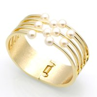 bangle clothing - New Arrival Fashion Women Bracelets Accessories Clothes All Match Pearl Cuff Bangles Bracelets Charm Jewelry Pulseiras Gift