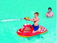 Wholesale Low price water motor boat with gun water pool toy for kids cm water shooting gun game