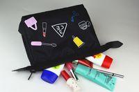Wholesale Makeup Bag Toiletry bag Storage Cute Cosmetic Bag Zipper Closure Large Capacity Women s Lady Travel Makeup Bags Casual Purses Wash Pouch