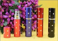 best fragrance - perfume bottle ml Aluminium Anodized Compact Perfume Aftershave Atomiser Atomizer fragrance glass scent bottle with titoni Mixed color best
