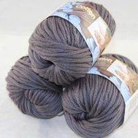 Precio de Carbono especial-Venta lote de 3 BallsX50g especial grueso peinada 100% algodón el hilado de carbón 42232