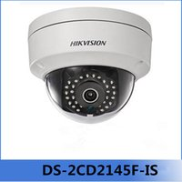 Wholesale Hikvision Full HD MP PoE Camera DS CD2145F IS Replace DS CD3145F IS H HEVC With TF Card Slot Audio I O Mini Dome POE IP Camera