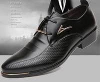 Wholesale 2016 New Fashion Style Men Dress Shoes Oxford Shoes For Men Lace Up Men Shoes Casual Men Oxford