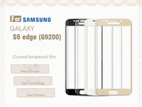 auto repair scratches - Cell Phone Front For Samsung S6edge Anti Scratch Tempered Glass HD Auto Repair Waterproof Anti Fingerprint Military Grade Explosion Proof