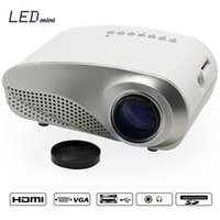 Wholesale 2015 NEWEST MINI LED Portable Projector For Video Games TV Movie SD FULL HD Home AND OUTDOOR Theater FREE GIFT