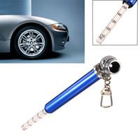 used tires - Universal Durable To PSI LBS Auto Vehicle Car Motor Tyre Tire Air Pressure Test Meter Gauge Pen Emergency Use Good Helper