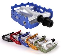 Wholesale 1 Pair MTB Mountain Bike Pedals Ultralight Color Aluminum Cycling Pedals Road Bike Pedals Cycling parts