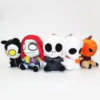 Wholesale Halloween Jack skeleton Pumpkin Plush Toys style cm children Anime Nightmare Before Christmas helloween stuffed toys