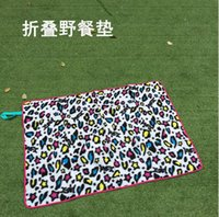 Wholesale 2016 New baby product cute baby gym mat fashion cheap folding kids care baby play game mat outdoor camping picnic pads