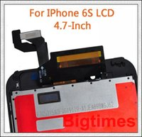 Wholesale AAA Quality DHL Free Full Original For iphone S LCD Display With Touch Screen Frame Digitizer Full Assembly Replacemen