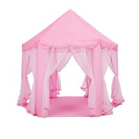 Wholesale Hexagonal Princess House Children indoor and outdoor large tent Princess Castle X135CM years age